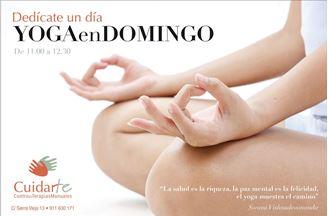 Imagen de Yoga en domingo. Isabel Martín
