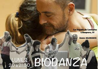 Imagen de Biodanza sesiones los lunes a las 20h en Lavapiés