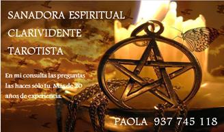 Imagen de PAOLA Asesora Espiritual clarividente y Tarotista