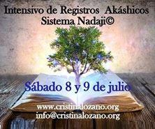 Imagen de INTENSIVO REGISTROS AKÁSHICOS NIVEL I Y II