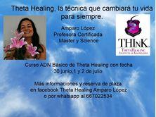 Imagen de CHARLA PRESENTACION Y CURSO CURSO ADN BÁSICO THETA HEALING