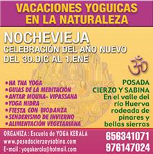 Imagen de RETIRO DE YOGA EN LA NATURALEZA - NOCHEVIEJA