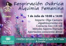 Imagen de RESPIRACIÓN OVÁRICA - ALQUIMIA FEMENINA