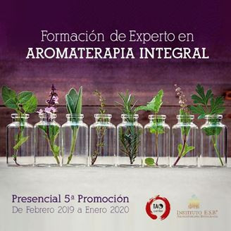 Imagen de Formación de Experto en AROMATERAPIA INTEGRAL