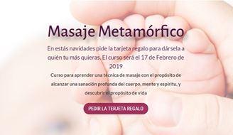 Imagen de CURSO DE MASAJE METAMÓRFICO