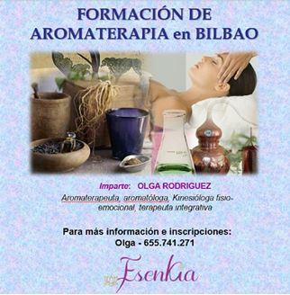 Imagen de FORMACION DE AROMATERAPIA EN BILBAO