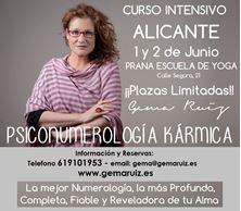 Imagen de CURSO PSICONUMEROLOGIA KARMICA EN ALICANTE