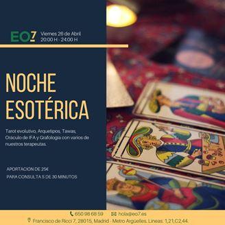 Imagen de NOCHE ESOTERICA EN MADRID