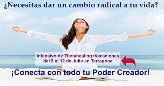 Imagen de Formación Intensiva de Thetahealing + Vacaciones del 5 al 12 de Julio en Tarragona