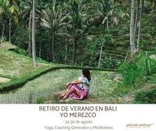 Imagen de RETIRO DE VERANO EN BALI