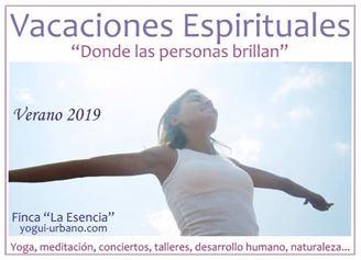 Imagen de VACACIONES ESPIRITUALES 2019