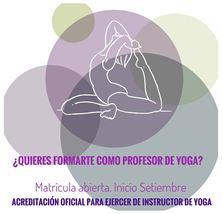 Imagen de FORMACIÓN INSTRUCTOR DE YOGA