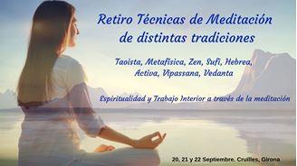 Imagen de RETIRO TÉCNICAS DE MEDITACIÓN