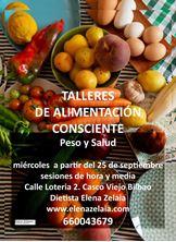 Imagen de TALLERES DE ALIMENTACIÓN CONSCIENTE