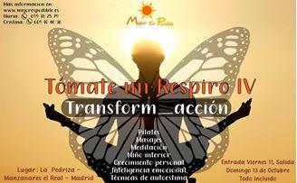 Imagen de TOMATE UN RESPIRO, RETIRO DE TRANSFORMACION