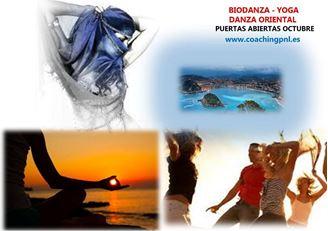 Imagen de CLASES DE BIODANZA, DANZA ORIENTAL Y YOGA