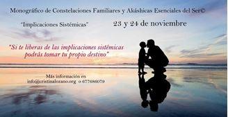 """Imagen de Monográfico de Constelaciones Familiares y Akáshicas Esenciales del Ser© """"Implicaciones Sistémicas"""""""