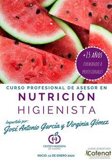 Imagen de ASESOR EN NUTRICION HIGIENISTA