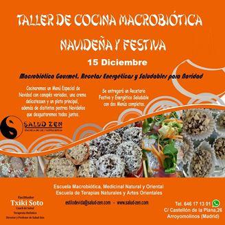 Imagen de TALLER DE COCINA MACROBIOTICA NAVIDEÑA Y FESTIVA