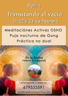 Imagen de Retiro de Meditaciones Activas - Puja de Gong - No Dualidad