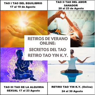 Imagen de RETIROS ONLINE TAO VERANO 2020