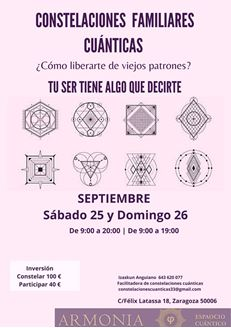 Imagen de CONSTELACIONES FAMILIARES CUÁNTICAS