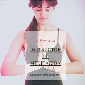 Imagen de INSTRUCTOR DE MEDITACIÓN EN MADRID