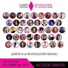 Imagen de CUMBRE VIRTUAL: RE-EVOLUCIONA TU SEXUALIDAD